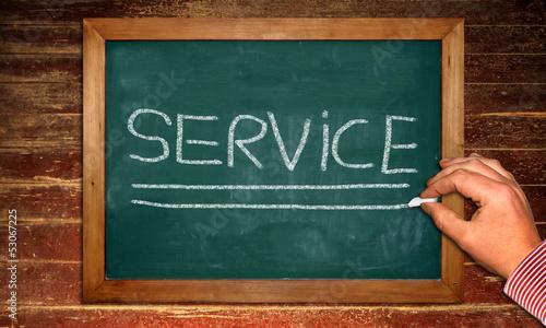 Kreidetafel - Service