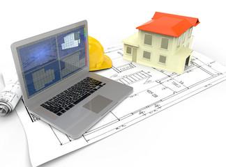 Casa hecha por ordenador