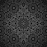 Ornamental seamless lace pattern