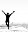 Jogger Ziel Freude