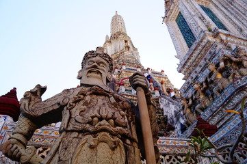 Giant in Thai temple