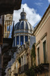 Italy, Sicily, Ragusa Ibla, St. George Cathedral's dome