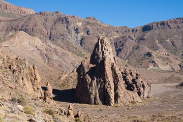 Rock La Catedral and Ucanca plains