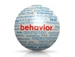 Постер, плакат: Behavior sphere