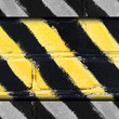 yellow sign construction warning background black old grunge tex