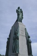 monument, Saint Joseph's Oratory of Mount Royal,Montreal, canada