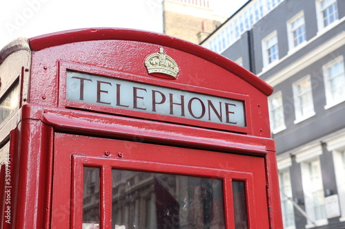 London's telephone box - 53077644