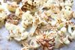 cauliflower florets roasted, salted