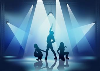 Dancers In The Spotlights