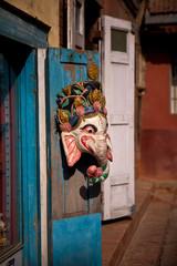Nepal - souvenir shop