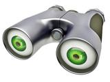 binocular device poster