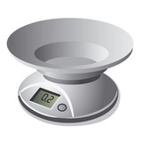 Kitchen weight scale