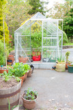 Self build glasshouse