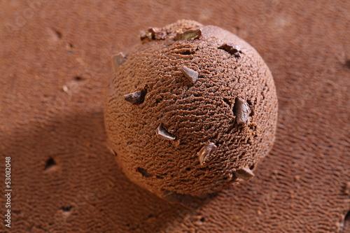 schokoladen eiscreme