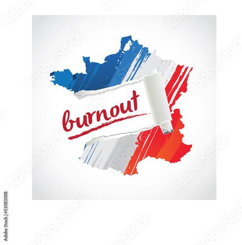 LE BURNOUT EN FRANCE