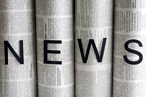 News letters on newspapers © udra11