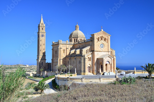 Ta' Pinu Church in Gozo