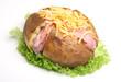 Jacket Potato with Ham & Cheese