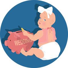 Saving for wedding early