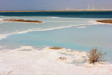 Krajobraz nad martwym morzem - 53086407