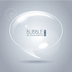 bubble icon oval