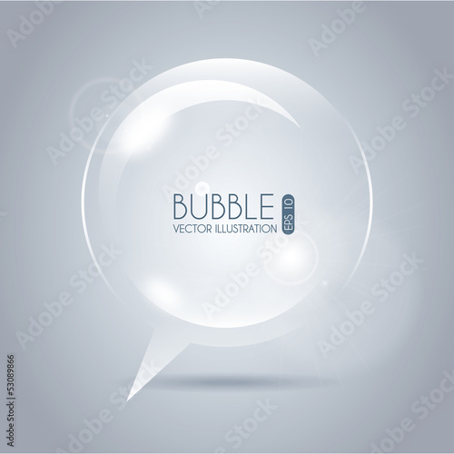 bubble icon circle