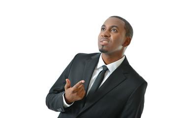Businessman Thinking