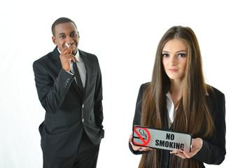 No Smoking (serious)