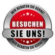 5 Star Button rot BESUCHEN SIE UNS WBSG WBSG