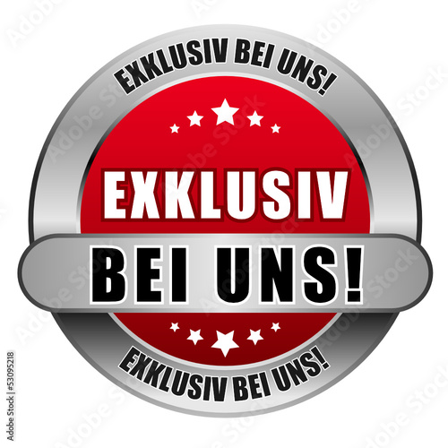 5 Star Button rot EXKLUSIV BEI UNS! DTO DTO
