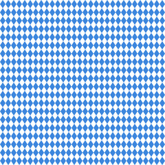 Seamless Pattern Octoberfest Blue/White
