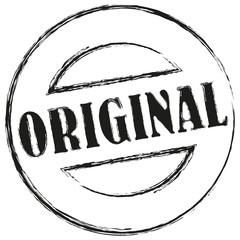 stempel button original