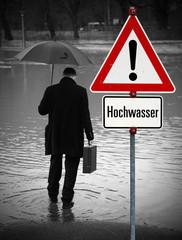 Hochwasser Warnung