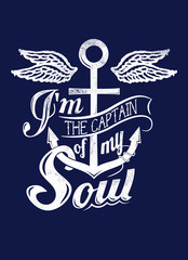 Captain of my soul
