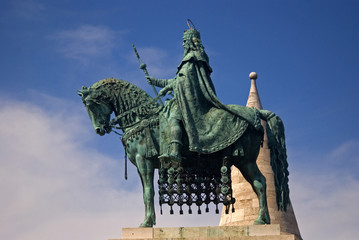 Saint Istvan, first king of Hungary, Budapest, Hungaryry