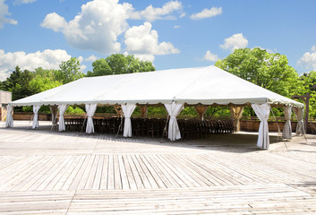 large tent for outdoor activity, party,weddings