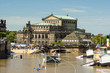 Dresden Semperoper from the Bruhl's Terrace, 05.06.2013, Elbe 84 - 53102643