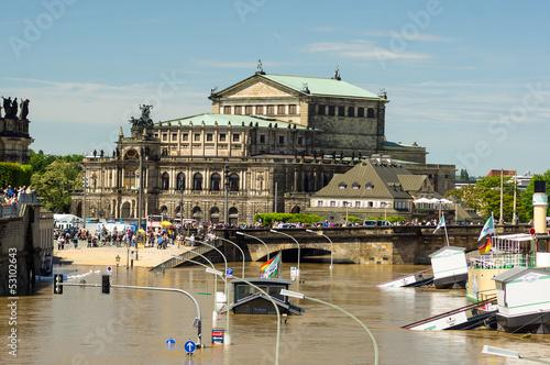 Dresden Semperoper from the Bruhl's Terrace, 05.06.2013, Elbe 84 - 53102643