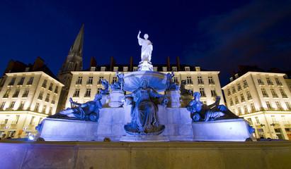 Fontaine de la place Royale de Nantes