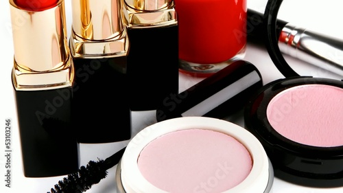 beauty accessories set 1920x1080 intro motion slow hidef hd