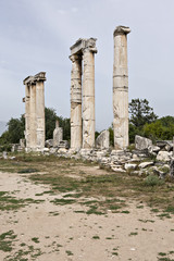 The Temple of Aphrodit in Aphrodisias