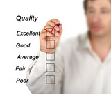 Evaluation of quality