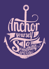 Anchor to something special