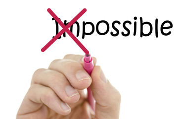 Making word impossible possible