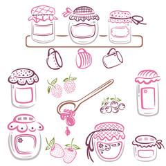 Marmelade, Sommer, Konfitüre, Marmeladengläser