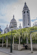Sacré Coeur de Paris vu du parc de la Turlure - 53106853