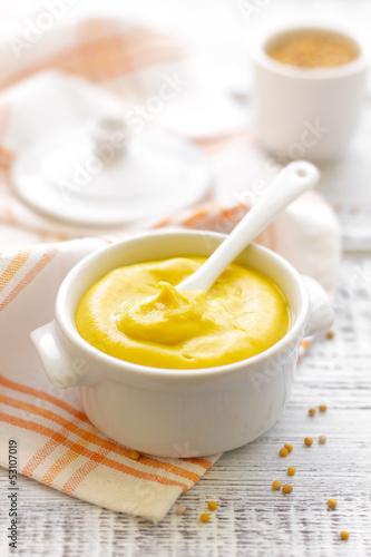 Foto op Canvas Kruiderij Mustard
