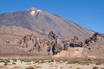 Roques de Garcia and Teide
