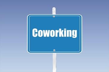 panneau coworking
