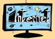 concept doodle internet